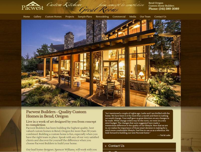 Bend Oregon Web Design